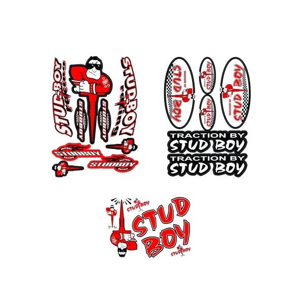 Stud Boy Die Cut Decal Sets