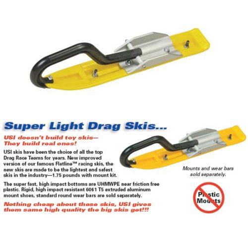 USI Super Light Drag Snowmobile Ski